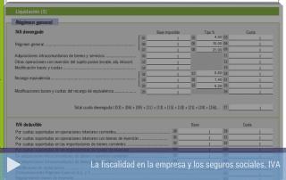 La fiscalidad en la empresa: el IVA