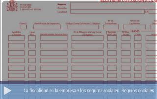 La fiscalidad en la empresa : Seguros Sociales
