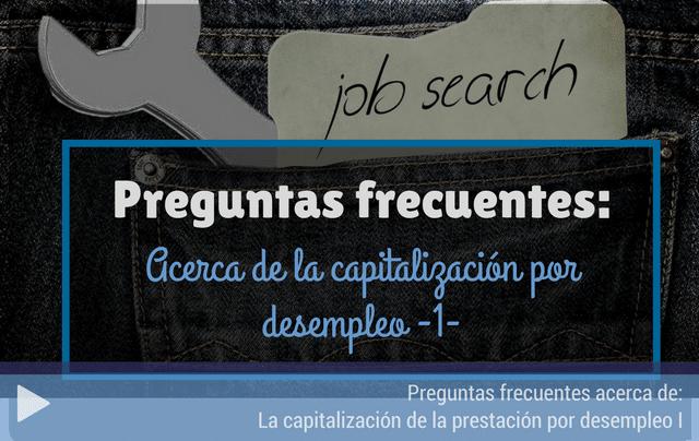 Preguntas frecuentes capitalización del desempleo
