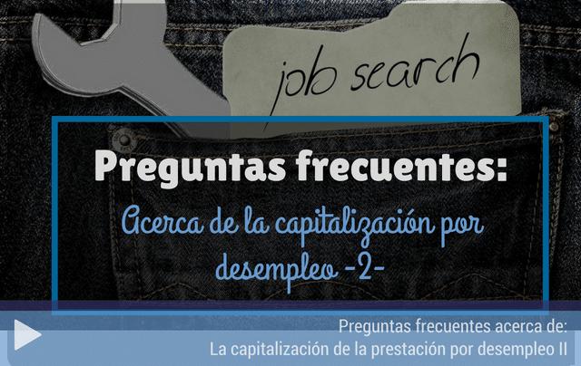Preguntas frecuentes capitalización del desempleo 2