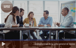 Competencias de la junta general de socios