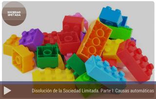 Causas automáticas disolución sociedad limitada I: Causas automáticas