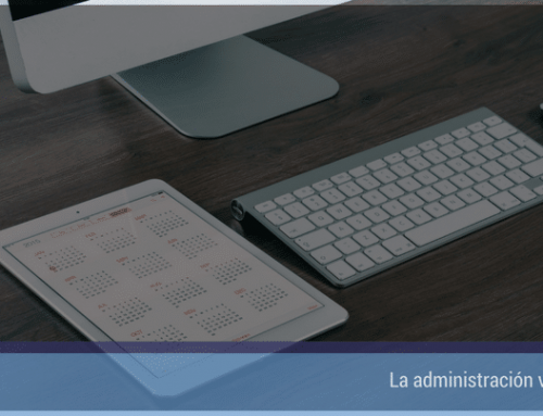 La administración virtual