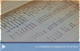 La contabilidad y la legalización de los libros