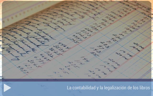 La contabilidad y la legalización de libros contables