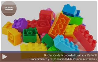 La disolución de la Sociedad Limitada. Parte III: Procedimiento y responsabilidad de los administradores