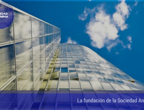 La fundación de la Sociedad Anónima