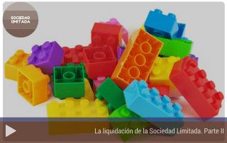 La liquidación de la Sociedad Limitada. Parte II