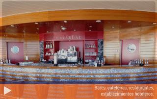 Bares, cafeterias, restaurantes, establecimientos hoteleros
