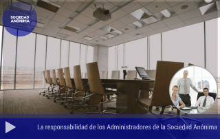 La responsabilidad de los Administradores de la Sociedad Anónima