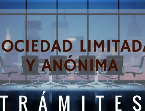 Trámites constitución Sociedad Limitada y Anónima
