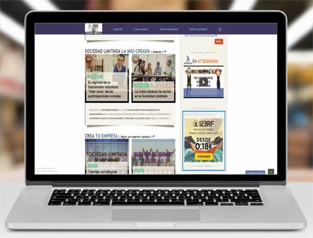 Area publicidad portada lateral creación de empresas