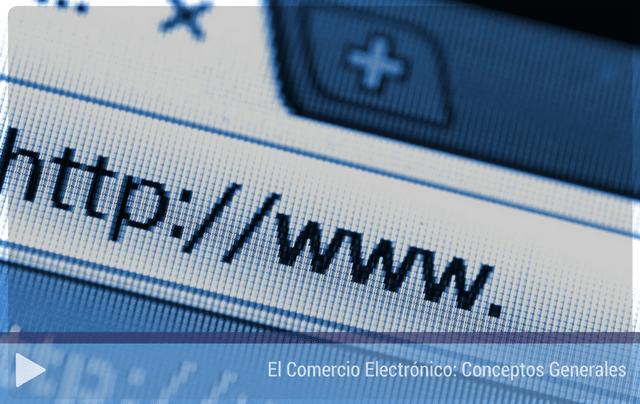El comercio electrónico. Conceptos generales