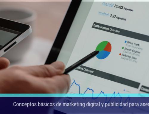 Conceptos básicos de marketing digital y publicidad para asesorías que te interesa conocer