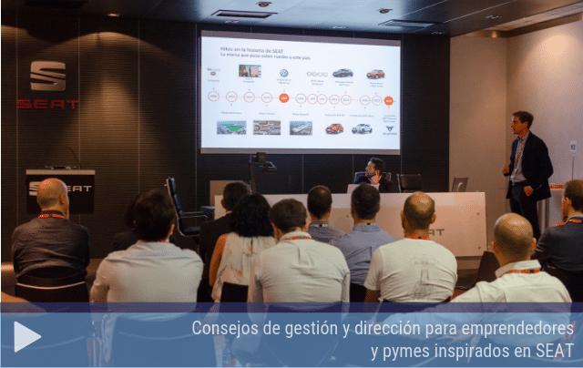 Consejos de gestión y dirección para emprendedores y pymes inspirados en SEAT