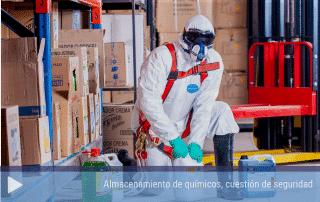 Almacenamiento de químicos, cuestión de seguridad.
