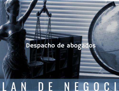 Plan de negocio de despacho de abogados