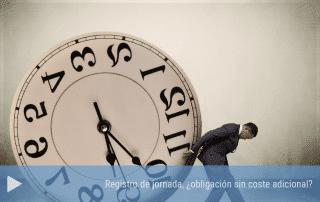 Registro de la jornada de trabajo ¿obligación sin coste adicional?
