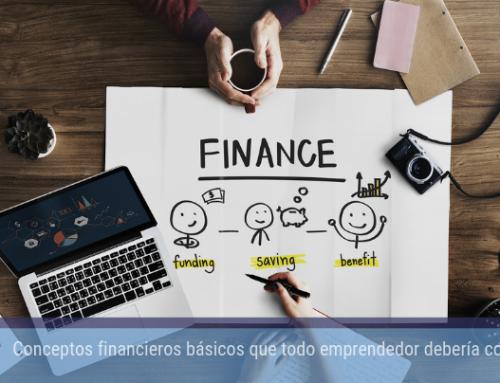 Conceptos financieros básicos que todo emprendedor debería conocer