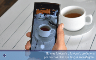 No eres fotógrafa o fotógrafo profesional por muchos likes que tengas en Instagram
