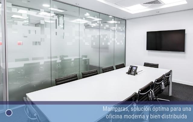 Mamparas, solución óptima para una oficina moderna y bien distribuida