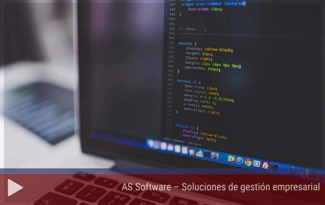 AS Software – Soluciones de gestión empresarial