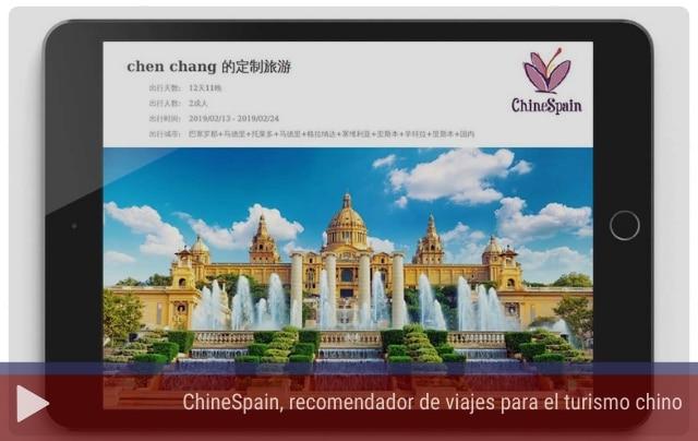 ChineSpain, viajes para el turismo chino