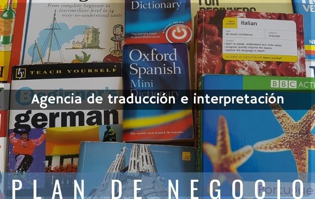 Plan de negocio de agencia de traducción
