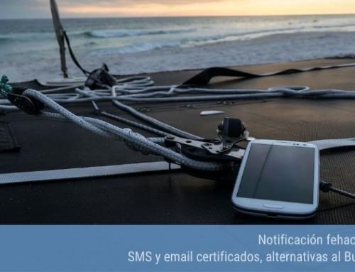 Notificación fehaciente: SMS y email certificados, alternativas al Burofax