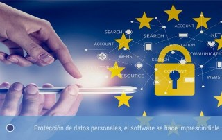 Protección de datos personales, el software se hace imprescindible