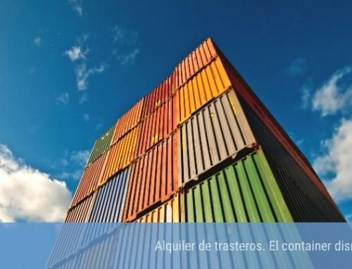Alquiler de trasteros. El container disruptor