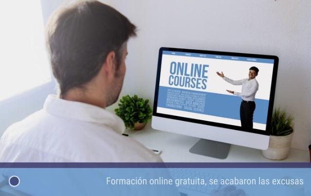 Formación online gratuita, se acabaron las excusas
