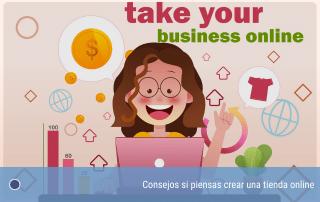 Consejos si piensas crear una tienda online
