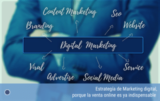 Estrategía de Marketing digital, porque la venta online es ya indispensable