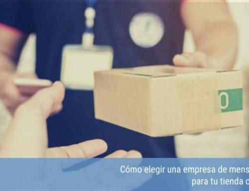 Cómo elegir una empresa de mensajería para tu tienda online