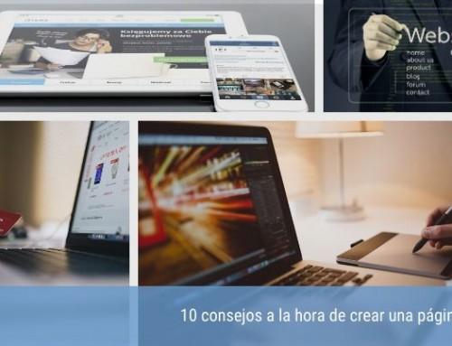 10 consejos a la hora de crear una página web