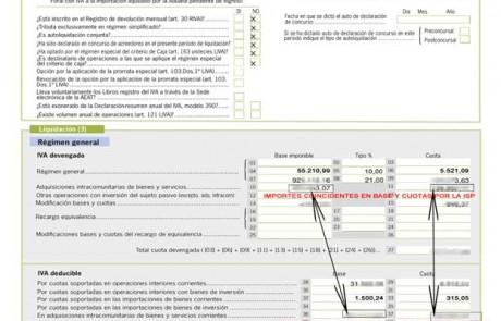Ejemplo - Pagina 2 - IVA Soportado IVA Repercutido y Resultado