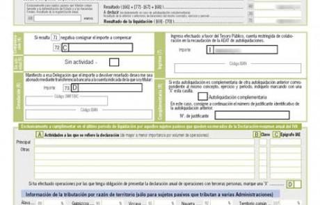 Ejemplo - Pagina 3 - Liquidación y datos adicionales