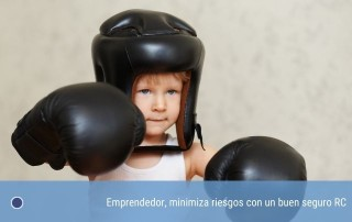 Emprendedor, minimiza riesgos con un buen seguro RC
