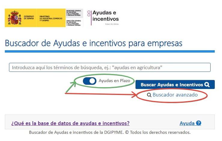Subvenciones a empresas en España _ cde