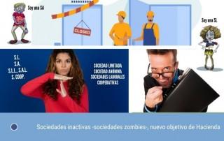 Sociedades inactivas -sociedades zombis-, nuevo objetivo de Hacienda