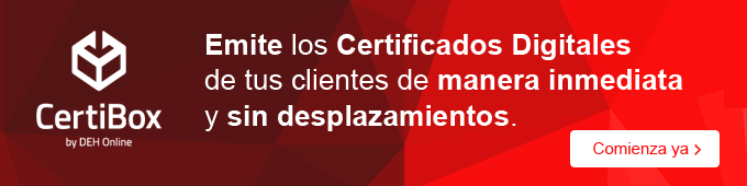 Certibox certificados digitales y notificaciones