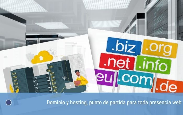 Dominio y hosting, punto de partida para toda presencia web