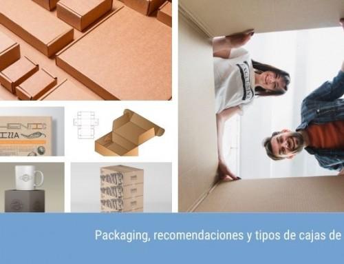 Packaging, recomendaciones y tipos de cajas de cartón para envíos