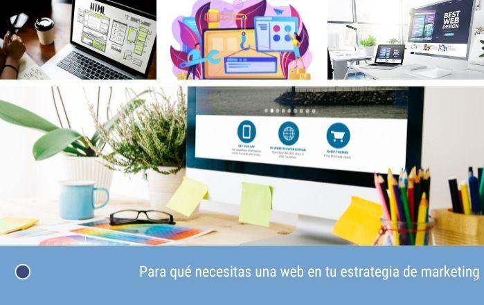 Para qué necesitas una web en tu estrategia de marketing