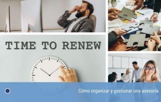 Cómo organizar y gestionar una asesoría